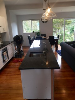 A new kitchen plumbed in - Brooklyn, Wellington (2/2)